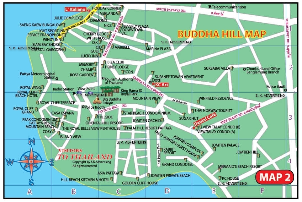 Buddha Hill Map