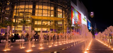 Siam Paragon @ dancing fountain