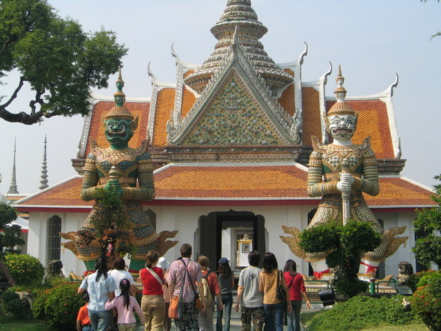 the Temple of Dawn or Wat Arun