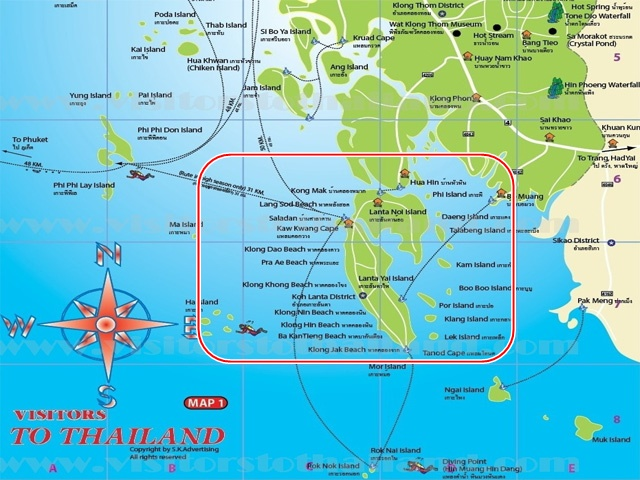 Lanta Islands Graphic View