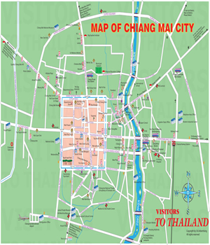 Chiang Mai City Map