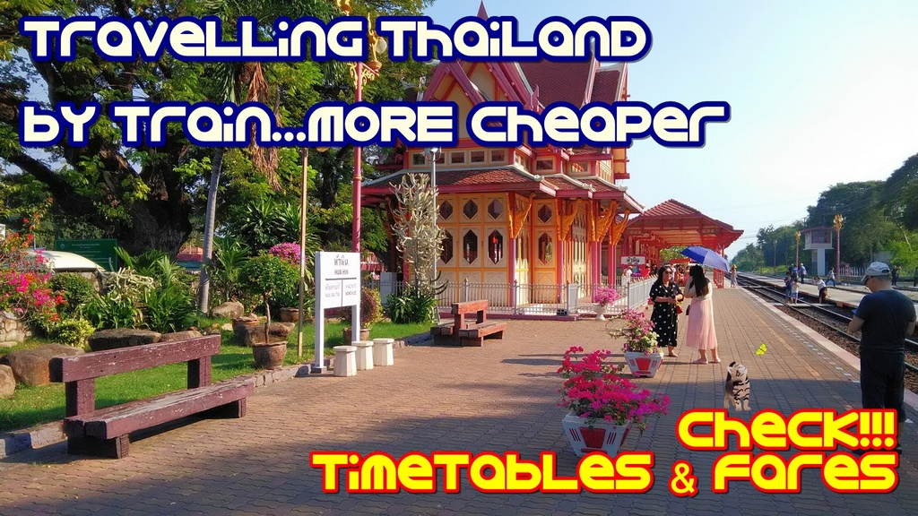Travelling Hua Hin by Train