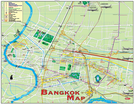 Bangkok Map Shortcut