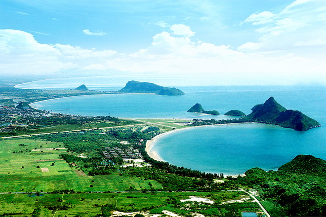 Three Bays of Prachuap